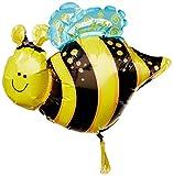 Happy Bee Mini Shape Balloon (1 ct) (1 per package)