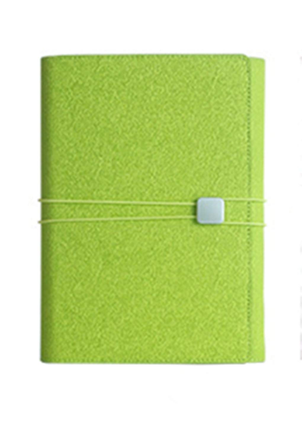 mobravo conf/érencier A5/Pelle con Blocco notes rimovibili Pochette telefono blu