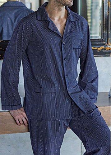 Pijama Hombre Guasch Clásico Abotonado de Tela (100% algodón) pc161d.665 (XXL): Amazon.es: Ropa y accesorios