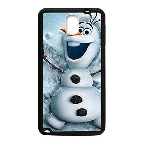 JIANADA Frozen Snowman Olaf Phone Case for Samsung Galaxy Note3