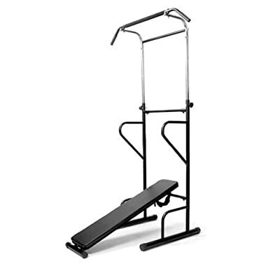 Gugutogo Multi Fonction Gym Power Tower Dip Pull à Abdominaux