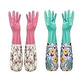 Misciu Durable Waterproof Household Glove Dishwashing Cleaning Rubber