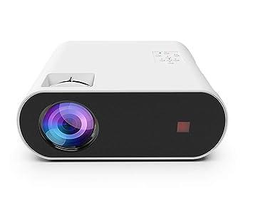 ZXC Micro proyector LED portátil Mini HD proyector inalámbrico ...