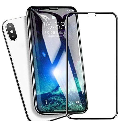 テープ考案する取り替えるiPhone XS Max/Plus ガラスフィルム 【2018最新版専用設計 3D全面保護 ケースと干渉せず】日本旭硝子製 液晶保護フィルム 硬度9H/防塵/全面保護/高透過率/指紋防止/気泡防止/自動吸着/簡単貼付 iPhoneXS Max 6.5インチ対応