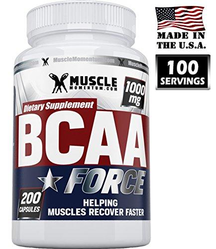 BCAA Capsules - Premium acides aminés branchés Capsules. Rapide travail sur la récupération musculaire formule, aide à construire la masse maigre et perdre du poids. USA Fait naturelle contient de la L-leucine, L-isoleucine et L-valine. Garanti! Cadeau gr