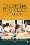Educational Psychology in Context 1st Edition