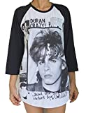 Duran Duran Raglan 3/4 Length Sleeve Baseball T-Shirt XL White