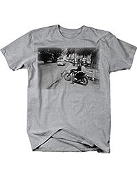 Bob Dylan Motorcycle Vintage Classic Rock Roll Artist Tshirt