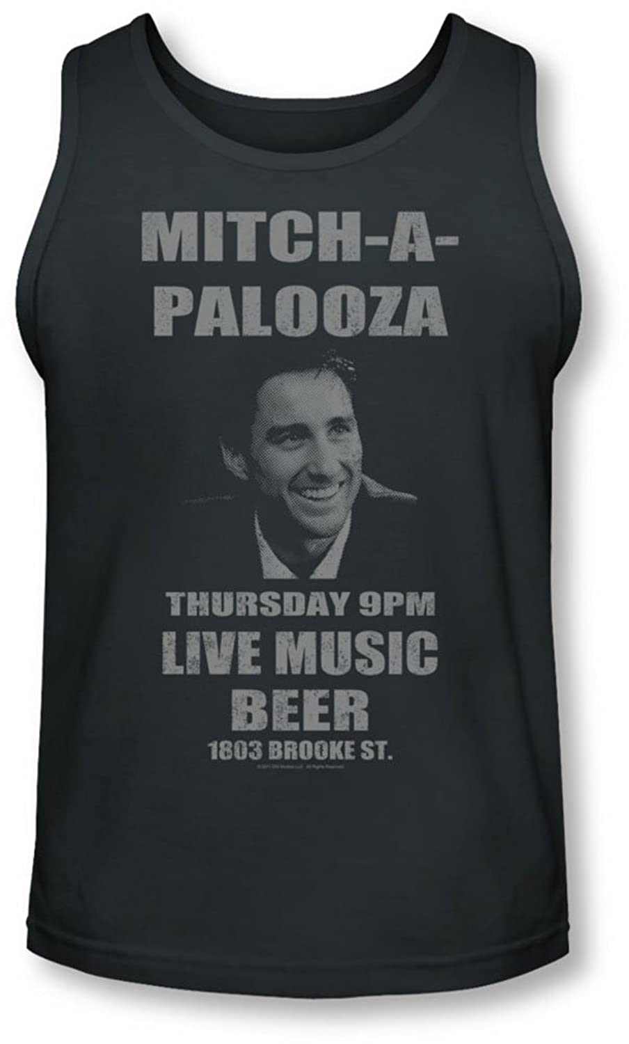 Old School - Mens Mitchapalooza Tank-Top