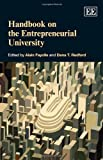 Handbook on the Entrepreneurial University, , 1781007012