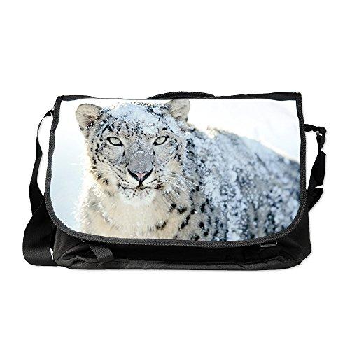 Royal Lion Laptop Notebook Messenger Bag Snow Leopard HD (Snow White Apple Bag)