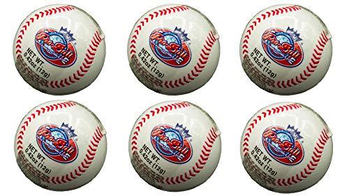Baseball Pro-Ball Dubble Bubble Gum (6 Pack) Bundle