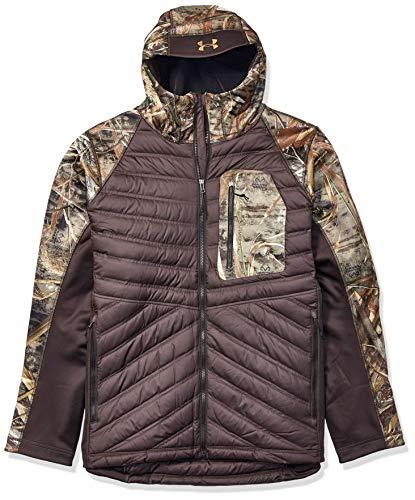 Under Armour Men's Storm Cache Hybrid Jacket, Realtree Max, X-Large (Under Armour Jacket Camo Mens)