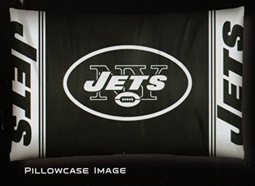 The Northwest Company New York NY Jets NFL 20x30 Standard Pillowcase Sham Set of 2
