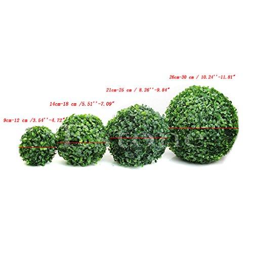 JUA PORROR Fashion Artificial Plant Ball Tree Boxwood Wedding Event Home Outdoor Decoration -
