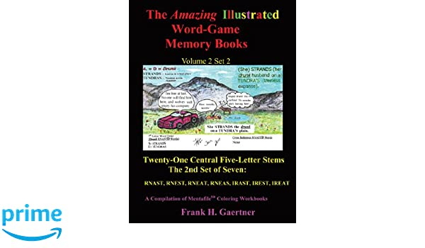 The Amazing Illustrated Word Game Memory Books Volume 2, Set 2