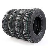 Set of 4 ST225/75R15 10 Ply Radial Trailer Tires Load Range E