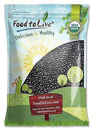 Food To Live fríjoles de tortuga negra orgá ...