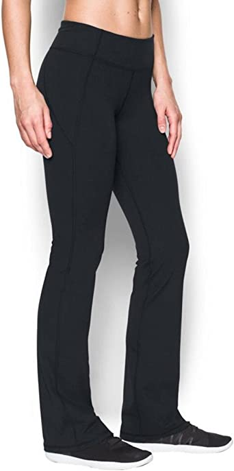 Paralizar Electrizar Mucho  Amazon.com : Under Armour Women's Mirror Boot Cut Pants : Clothing