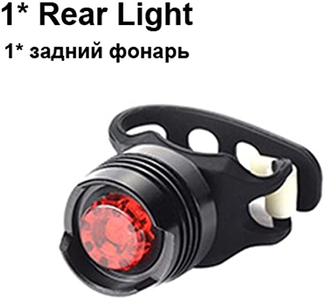 USB Rechargeable T6 LED Zoomable Front Bicycle Light Cycling Headlight Taillight