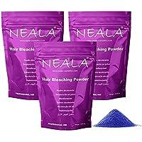 Pack 3 Decoloración azul en polvo sin amoniáco para pelo Neala. Pack 3 uds. 3 x500ml. = 1.500 ml.