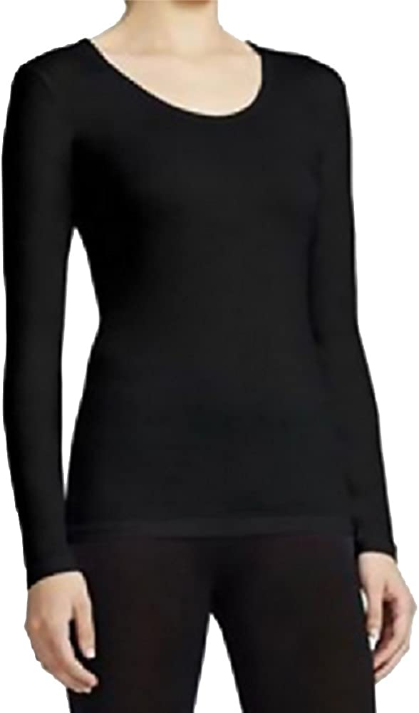 32 DEGREES Women Base Layer Top, Black, Large