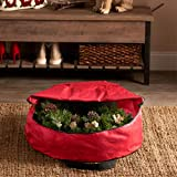 ZOBER Premium Christmas Wreath Storage Bag