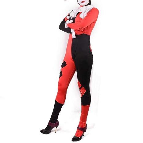 Amatop Mono 3D Harley Disfraz Joker Disfraz de Cosplay Harley ...