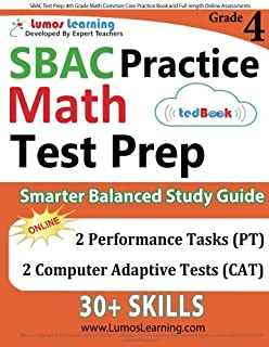 Sbac test prep 3rd grade math common core practice book and full sbac test prep 4th grade math common core practice book and full length online fandeluxe Images