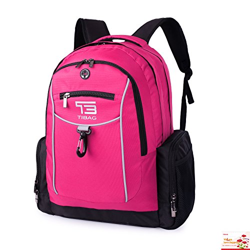 "Laptop Backpack Waterproof Computer Backpacks Bag for Men Women College School Travel and Work Fit Laptops Up to 17"" - Laptop Backpack Built"