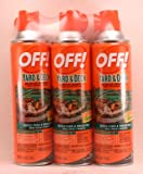 Off 3 Pk Yard & Deck 16 Oz Fogger