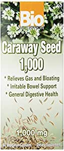 Bio Nutrition Caraway Seed Vegi-Caps, 60 Count