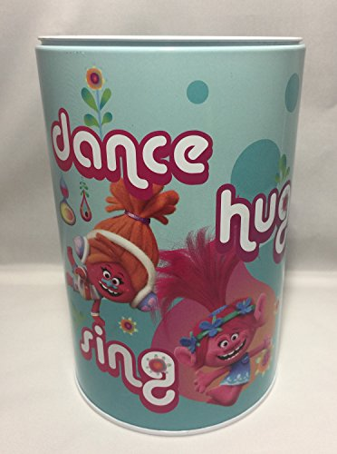 DreamWorks Trolls - Kids Money(Coin) Bank - Dance Hug Sing - Piggy Hugs