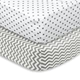 Best Garanimals Crib Mattresses - Fitted Crib Sheet 2 Pack – Soft Review