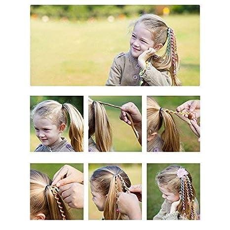 Men's Accessories Elastic Children Women Ponytail Holder Band Rabbit Ear Shape Girl Rubber Band Hair Ties Lovely Luster