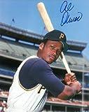 Athlon CTBL-016594 Al Oliver Signed Pittsburgh Pirates Photo - Bat on Shoulder - 8 x 10