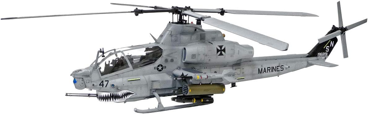 Academy Hobby Model Kits Scale Model : Helicopter Kits (1/35 AH-1Z Shark Mouth)