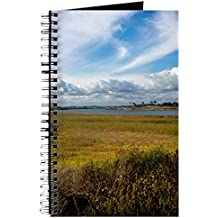 CafePress - Bolsa Chica Wetlands - Spiral Bound Journal Notebook, Personal Diary, Blank