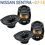 Fits Nissan Sentra 2007-2014 Factory Speaker Upgrade Harmony (2) R69 Package New