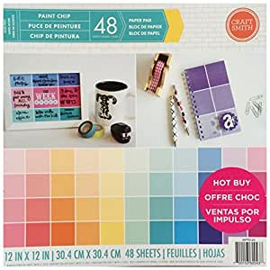 Craft Smith 12X12 Paper Pad PAINT CHIP