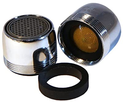 Neoperl 2.0 GPM Faucet Aerator Dual Threaded/ Aerated Cascade Stream Full flow