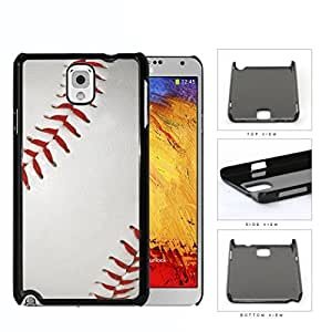 Baseball Close-up Of Red Stitching Hard Plastic Snap On Cell Phone Case Samsung Galaxy Note 3 III N9000 N9002 N9005