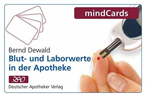 Blut- und Laborwerte in der Apotheke: mindcards