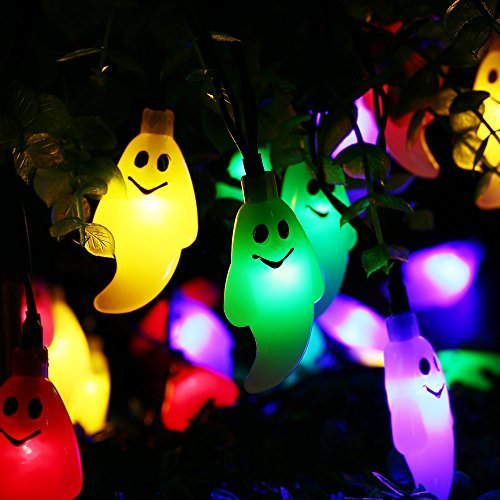 15 Led Halloween Pumpkin String Lights in US - 6