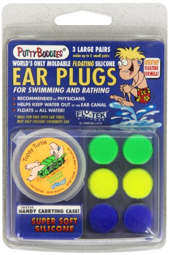 PUTTY BUDDIES Floating Earplugs 3 Pair product image