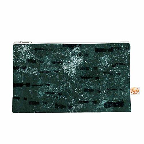 Kess eigene 12,5x 21,6cm Iris Lehnhardt Tex Mix Jade Alles Tasche–Grün