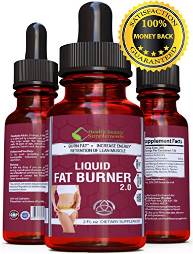 * EXTREME POTENCY * Fat Burners For Women – Fat Burners For Men – Weight Loss Supplements – Diet Supplements – Fat Burner – WITH – Raspberry Ketone Drops – Top Rated Weight Loss Supplement