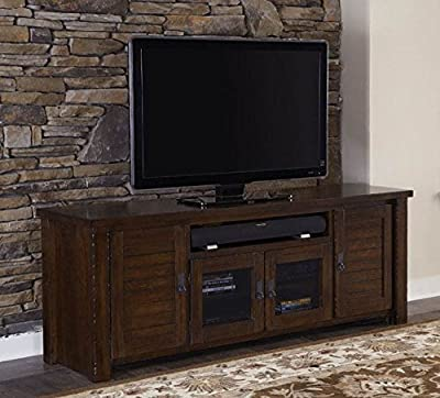 74 in. Traditional TV Console Table