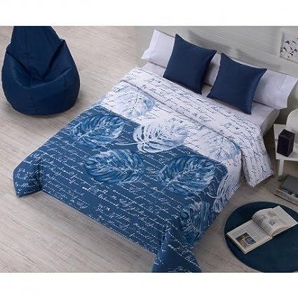 Medidas Funda Nordica Para Cama 180.Juego De Funda Nordica Ancora Color Azul Medida Cama 180 Amazon
