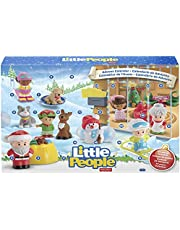 Fisher-Price Little People Advent Calendar, Count Down to Christmas with Your Toddler's Favorite Little People Friends and Fun Yuletime Accessories